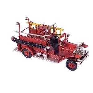 Μεταλλικό διακοσμητικό πυροσβεστικό σε κόκκιν&o
