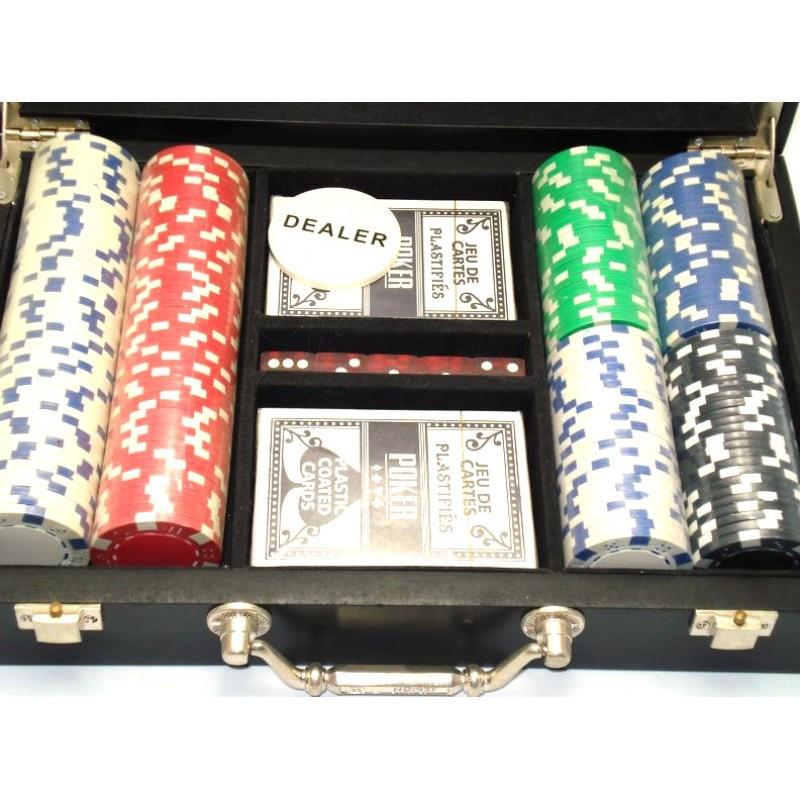 Poker Set - Βαλιτσάκι με μάρκες και τράπουλες