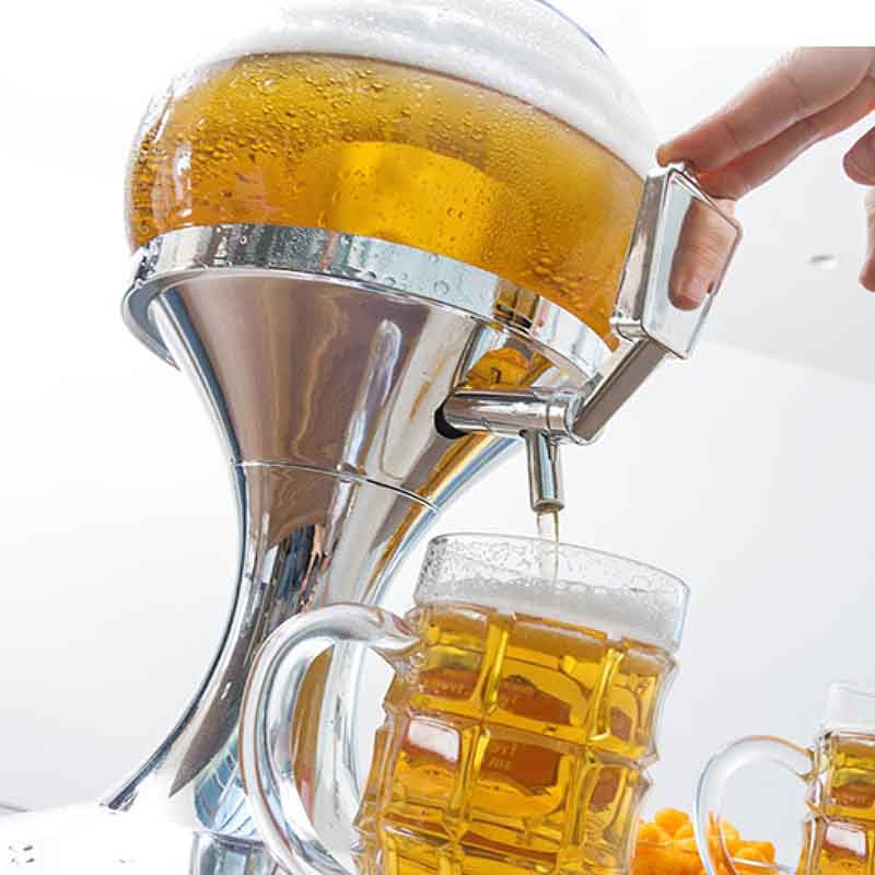 Dispenser Μπύρας & Cocktail με θήκη για πάγο 4ltr