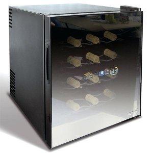 Mini ψυγείο sommelier κρασιού reflections για 16 μπουκάλια 48lt