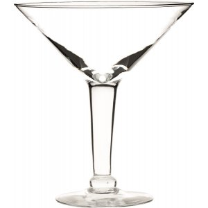 Χειροποίητο γυάλινο ποτήρι Martini 1,5 lt