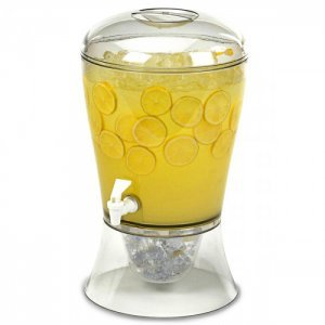 Dispenser Cocktail ή Χυμών με θήκη για πάγο 7,5ltr