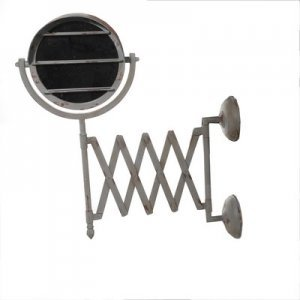 Mirror - Μεταλλικός πτυσσόμενος καθρέπτης 26Χ28Χ55c