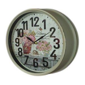 Ρετρό Μεταλλικό Ρολόι τοίχου 30cm