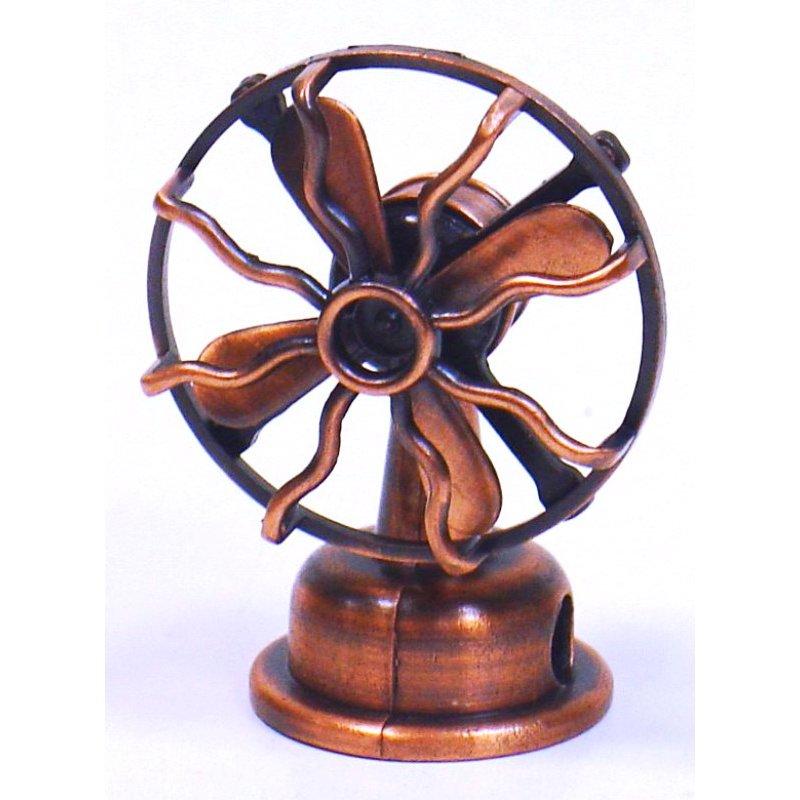 Vintage Μεταλλική Μινιατούρα Aνεμιστήρας 8cm