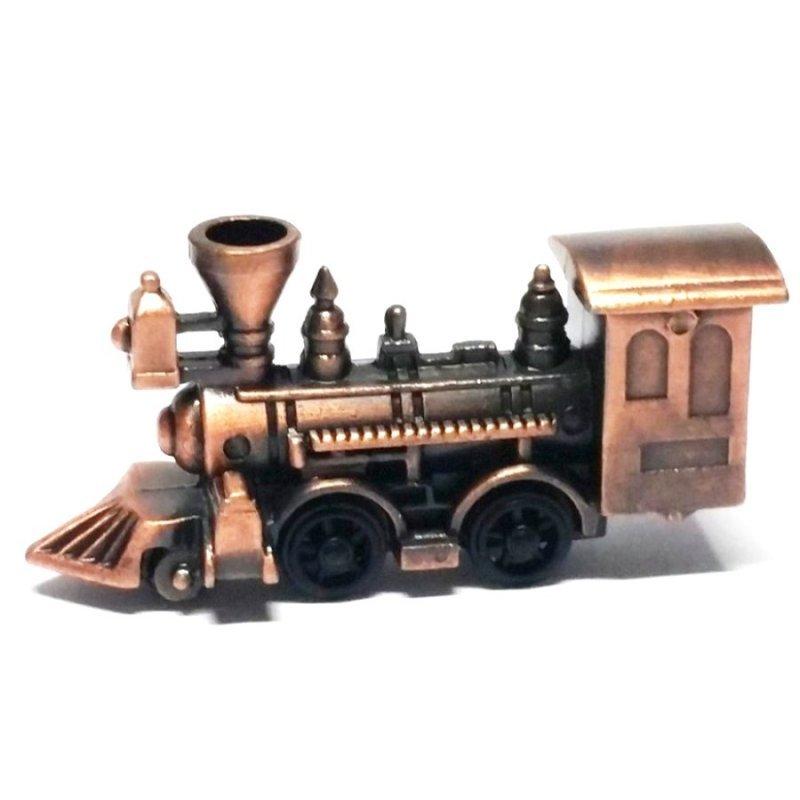 Vintage Μεταλλική Μινιατούρα Τρένο 8cm