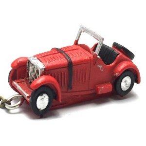 Μεταλλικό μπρελόκ μινιατούρα αυτοκίνητο 5cm κόκκιν&omicro