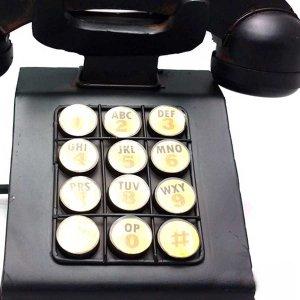 Ρετρό διακοσμητικό επιτραπέζιο τηλέφωνο