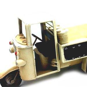 Διακοσμητικό ρετρό τρίκυκλο όχημα 25 εκατοστά