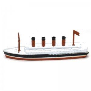 Τιτανικός -  Μεταλλική μινιατούρα και ξύστρα 12cm