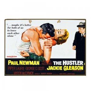 Vintage Ξύλινο Χειροποίητο Πινακάκι Παλιό πόστερ Σινεμά 20x30 εκ