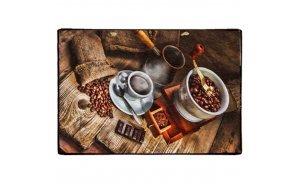 Vintage Πίνακας Χειροποίητος - Η τέχνη του Καφέ 20x30 εκ