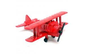 Ξύστρα μινιατούρα Αεροπλάνα σε κόκκινο χρώμα 7cm