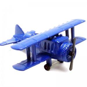 Ξύστρα μινιατούρα αεροπλάνο σε μπλέ χρώμα 7cm