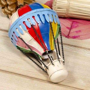 Μεταλλικό διακοσμητικό αερόστατο κρεμαστό 13εκ