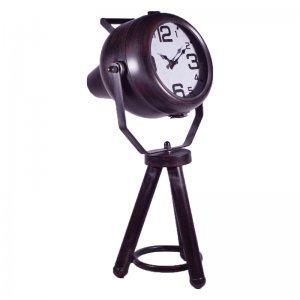 Μεταλλικό ρολόι Industrial προβολέας 26x23x55 εκ