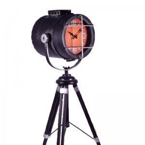 Industrial μεταλλικό ρολόι ναυτικός προβολέας 25x25x55 εκ