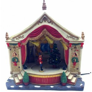 Σκηνικό θέατρο Χριστουγεννιάτικη σύνθεση 21x13.5x22 εκ