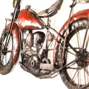 Διακοσμητική vintage μοτοσυκλέτα τοίχου 3D 78x41x4εκ