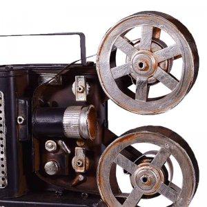 Vintage διακοσμητική κινηματογραφική κάμερα