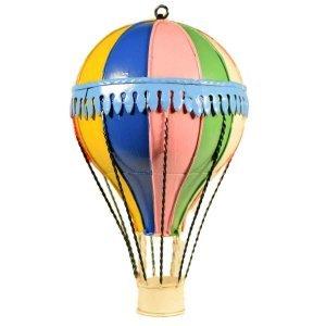 Αερόστατο μεταλλικό διακοσμητικό 20 εκ