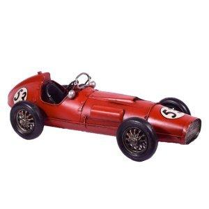 Κόκκινο αυτοκίνητο μεταλλικό κούρσα