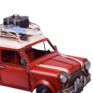 Διακοσμητικό mini σε κόκκινο χρώμα με surf 29x16x16 εκ