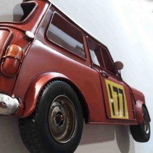 Μεταλλικό διακοσμητικό τοίχου ρετρό Mini 39x6x18 εκ