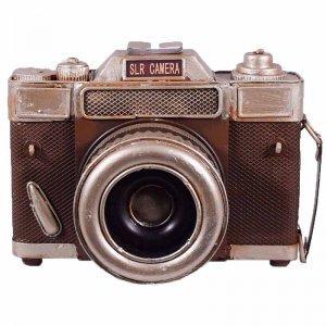Φωτογραφική κάμερα vintage διακοσμητική 15 εκ