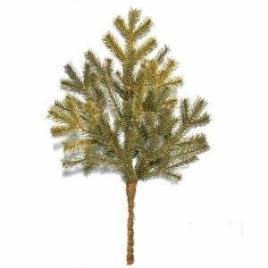 Μεσαίο Χριστουγεννιάτικο κλαδί διακόσμησης Full PE 60cm 58 κλαδιά