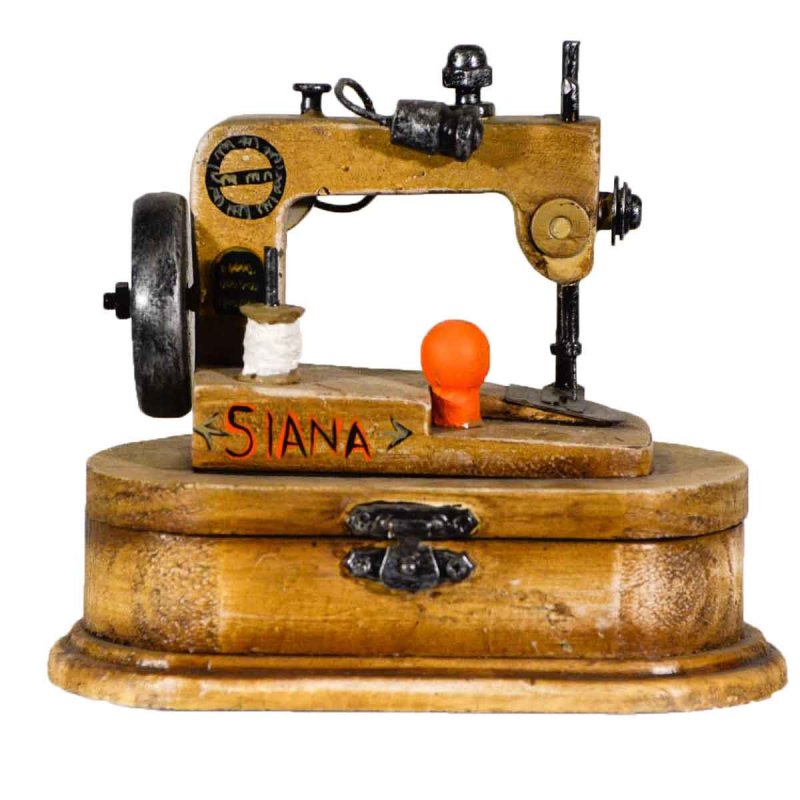 Siana Διακοσμητική Vintage Ραπτομηχανή με κουτί