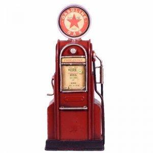 Vintage διακοσμητική βενζιναντλία σε κόκκινο χρώμα