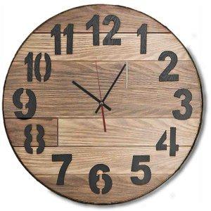 Χειροποίητο ξύλινο classic επιτοίχιο ρολόι