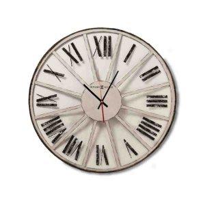 Retro Στρογγυλό Ρολόι τοίχου ξύλινο Χειροποίητο - Classic Howard Miller
