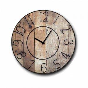 Ρολόι τοίχου Ξύλινο Χειροποίητο Gruntz 32 cm