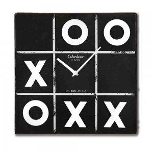 Ρολόι Τοίχου τύπου μαυροπίνακας τρίλιζα