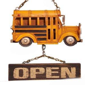Κρεμαστό Διακοσμητικό Open Σχολικό 24cm