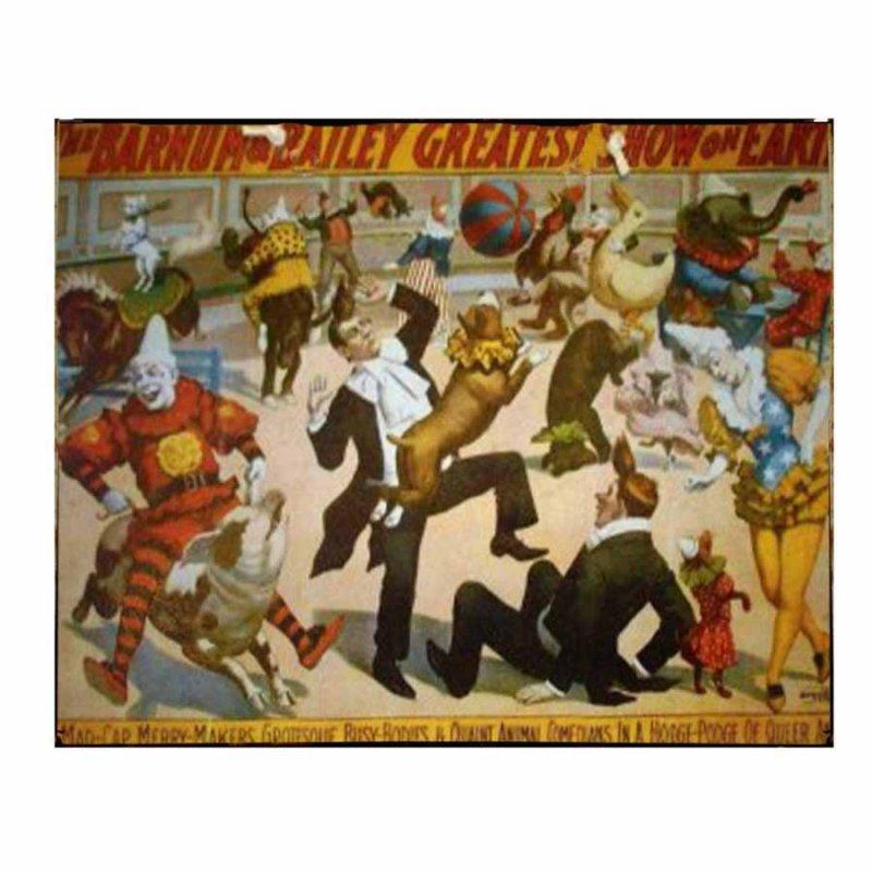 Barnum & Bailey Circus - Διακοσμητικό πινακάκι Τσίρκο