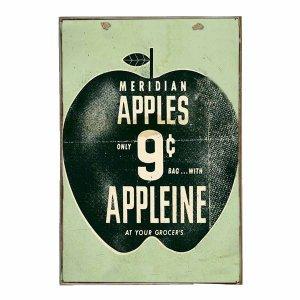 Apples Vintage Ξύλινο Πινακάκι 20 x 30 cm