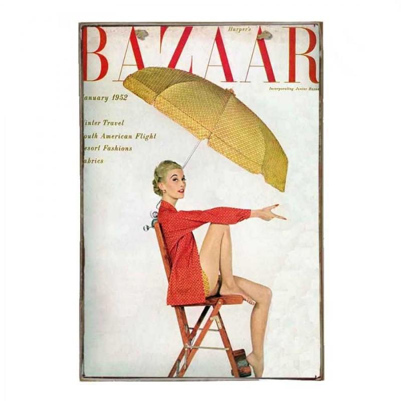 Bazaar Vintage Ξύλινο Πινακάκι 20 x 30 cm