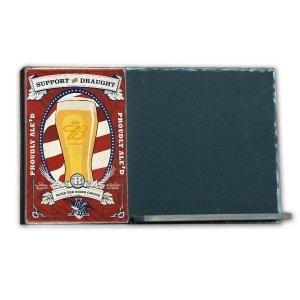 Beer  Ξύλινος Χειροποίητος Μαυροπίνακας 38 x 26 cm
