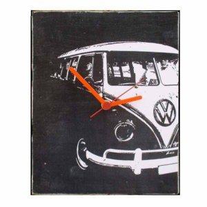 Black Van - Ρολόι τοίχου χειροποίητο