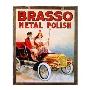 Brasso Metal Polish Χειροποιήτο Πινακάκι