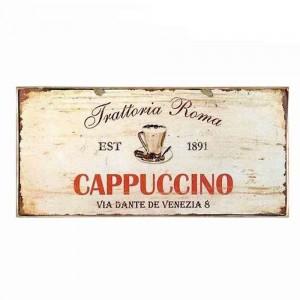 Cappuccino Ξύλινο Πινακάκι 13 x 26 cm