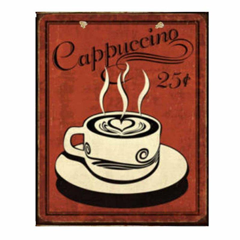 Cappuccino - Πίνακας Χειροποίητος 2306