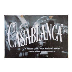 Casablanca - Ρετρό Πίνακας Χειροποίητος  21cm X 30cm