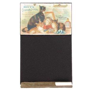 Cats - Χειροποίητος Μαυροπίνακας 26 X 38