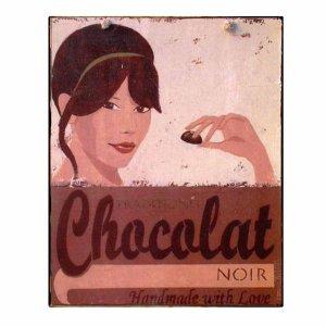 Chocolat - Retro Πίνακας Χειροποίητος