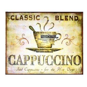 Classc Blend Cappuccino Πίνακας Χειροποίητος