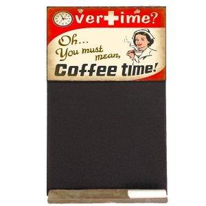 Coffe time - Χειροποίητος Μαυροπίνακας 26 X 38